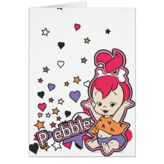 PEBBLES™ Purple Heart Greeting Card