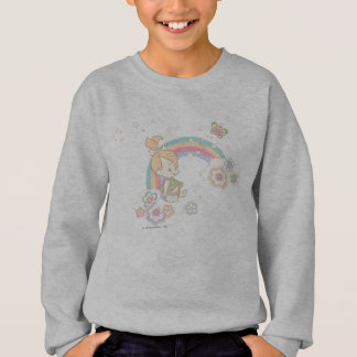 PEBBLES™ Rainbow and Flower Clouds Sweatshirt