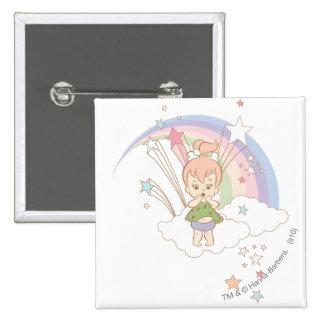 PEBBLES™ Rainbow Stars 15 Cm Square Badge