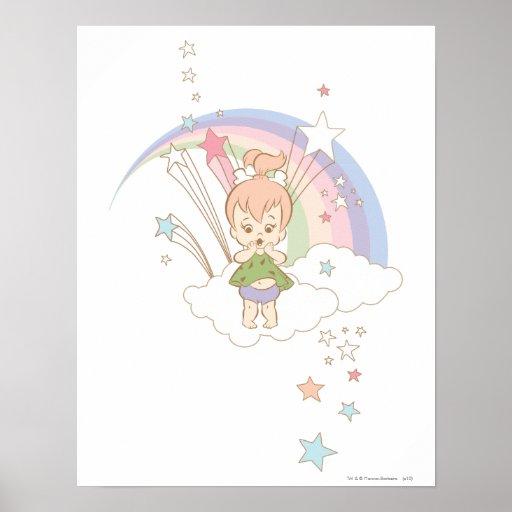 PEBBLES™ Rainbow Stars Posters