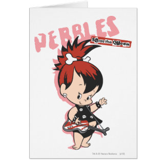PEBBLES™ Rock Star Card