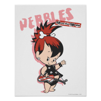 PEBBLES™ Rock Star Poster