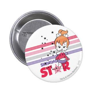 PEBBLES™ Shining Stars 6 Cm Round Badge