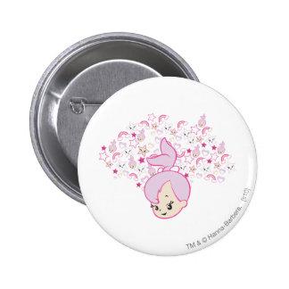 PEBBLES™ Star Print 6 Cm Round Badge
