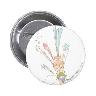 PEBBLES™ Starburst 6 Cm Round Badge