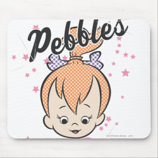 PEBBLES™ Stars and Hearts Mouse Mat