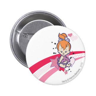 PEBBLES™ Super Star 6 Cm Round Badge