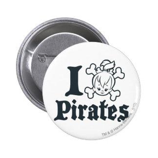 PEBBLES™ The Pirate 6 Cm Round Badge