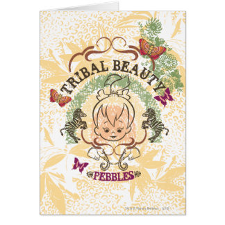 PEBBLES™ Tribal Beauty Card