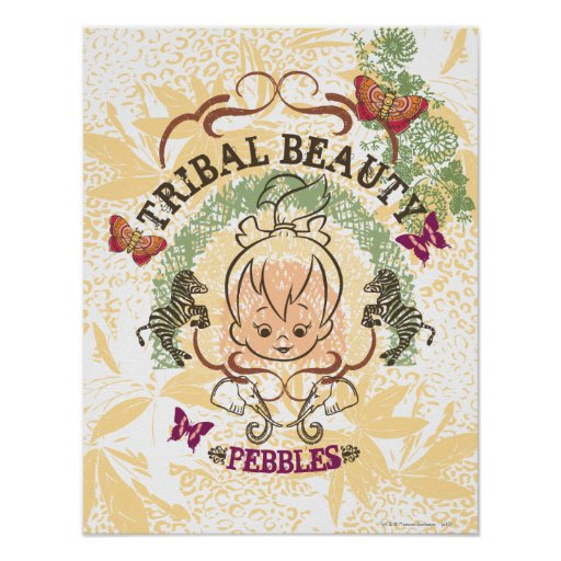 PEBBLES™ Tribal Beauty Print