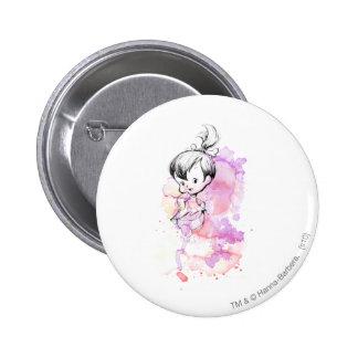 Pebbles Water Color 6 Cm Round Badge