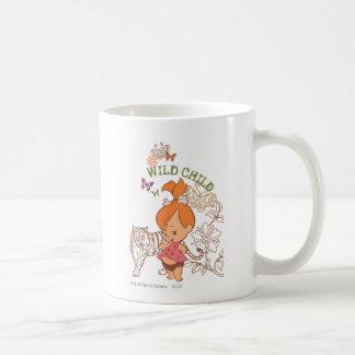 PEBBLES™ Wild Child Basic White Mug
