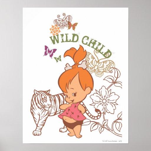 PEBBLES™ Wild Child Posters