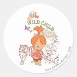 Pebbles Wild Child Sticker