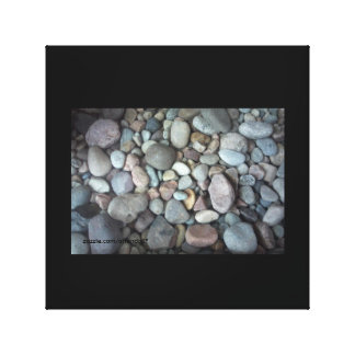 PEBBLES WRAPPED CANVAS