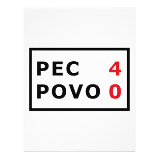 PEC - 4 Povo - 0 21.5 Cm X 28 Cm Flyer