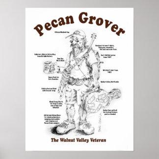 Pecan Grover 15x20 Poster