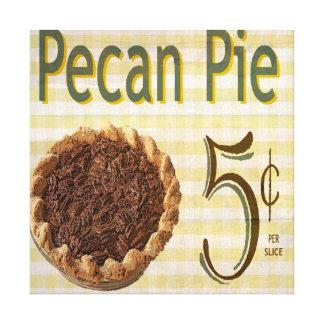 Pecan Pie Canvas Print
