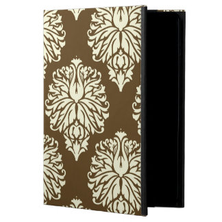 Pecan Southern Cottage Damask Cover For iPad Air