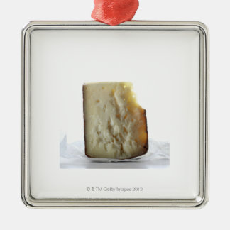Peccorino Cheese Slice Christmas Ornament