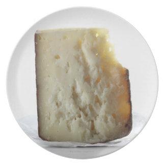 Peccorino Cheese Slice Plate