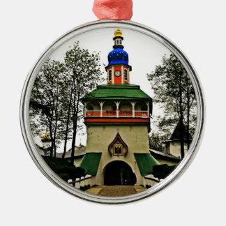 Pechory Russia Monastery Christmas Ornament