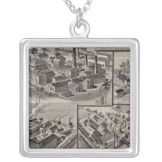 Peck, Stow & Wilcox factories Silver Plated Necklace