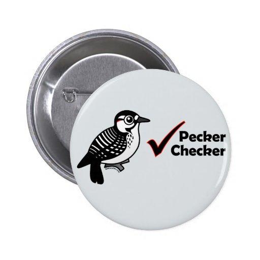 Pecker Chequered Buttons