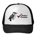Pecker Chequered Mesh Hat