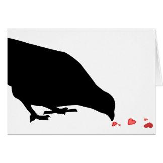 pecking order. card