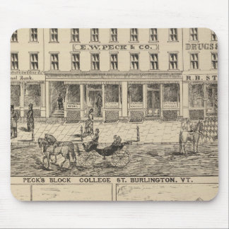 Peck's Block Mouse Pad