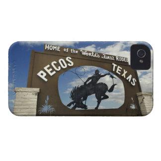 Pecos, Texas sign iPhone 4 Case