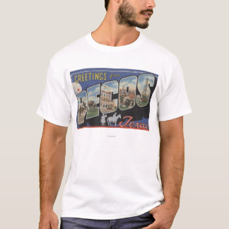 Pecos, TexasLarge Letter ScenesPecos, TX T-Shirt