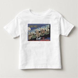 Pecos, TexasLarge Letter ScenesPecos, TX Toddler T-Shirt