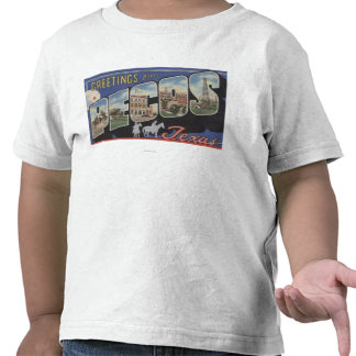 Pecos, TexasLarge Letter ScenesPecos, TX T Shirts