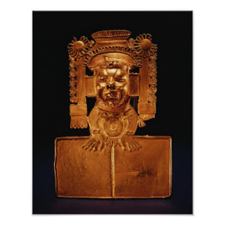 Pectoral of the god Xipe Totec Poster