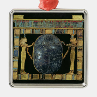 Pectoral of the vizier, Paser, with scarab Christmas Ornament