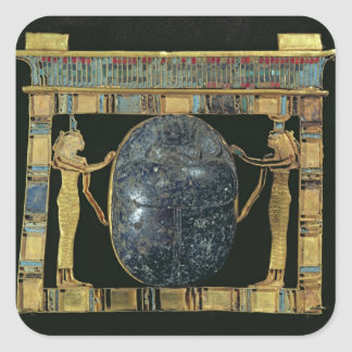 Pectoral of the vizier, Paser, with scarab Square Sticker