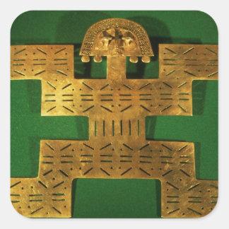 Pectoral ornament of the Tolima Region Square Sticker