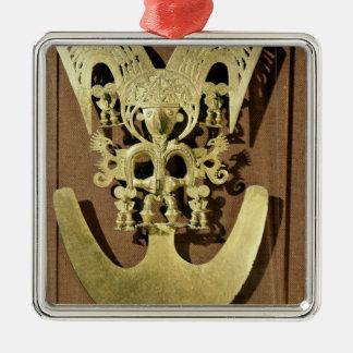 Pectoral, Quimbaya Christmas Ornament