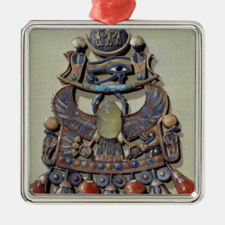 Pectoral with bird-scarab christmas ornament