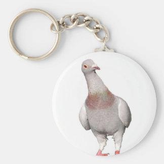 Peculiar dove key ring