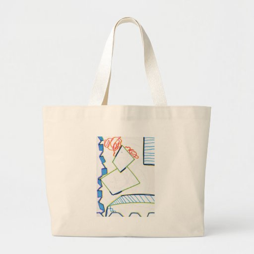 Peculiar Eccentric Source Canvas Bag