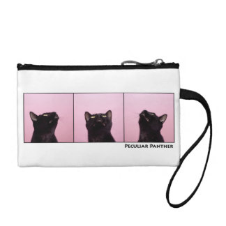 Peculiar Panther Black Cat Clutch