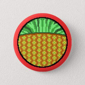 Peculiar Pineapple 6 Cm Round Badge