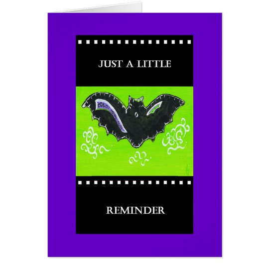 PedagogyGreetings Card: Baby Boo Card
