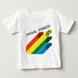 Pedal Power! Baby T-Shirt