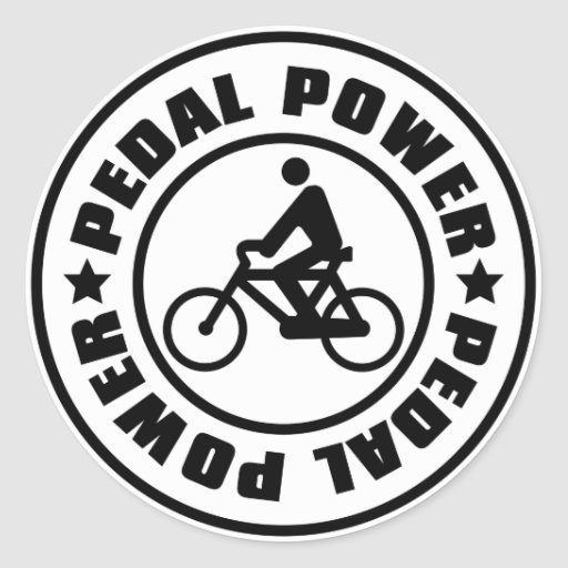 PEDAL_POWER STICKERS