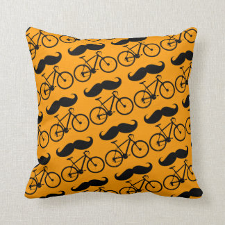 pedal ride bike bicycle cyclist throw pillow