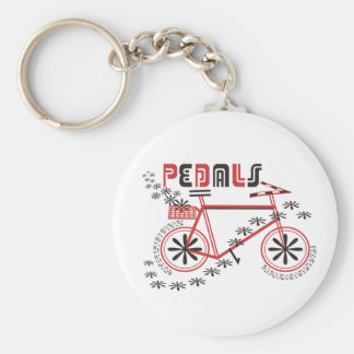 PEDALS Cycling Basic Round Button Key Ring